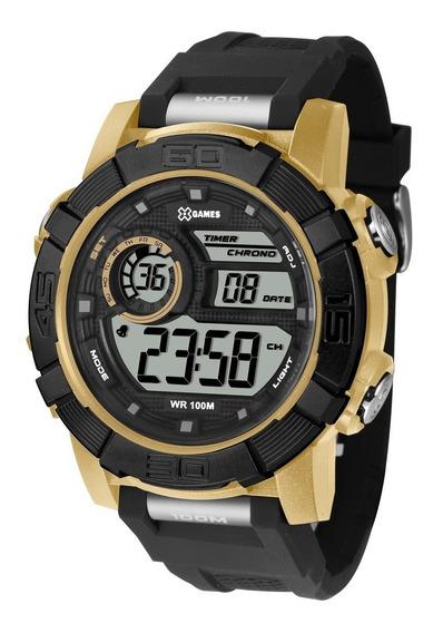 Relógio X-games Masculino Digital Xmppd527 Bxpx Dourado