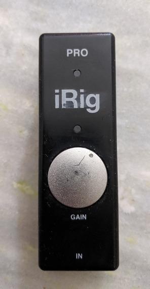 Irig Pro Interface De Áudio E Midi Ik Multimedia