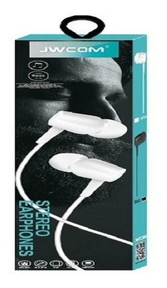 Fone De Ouvido 3.5mm In-ear Estéreo Jwcom 702 Samsung iPhone