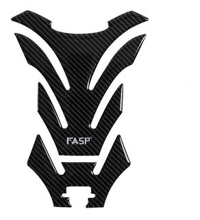 Protector Para Tanque Gasolina Moto Fibra De Carbono