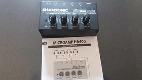 Ha Amplificador Fone Ouvido Shansonic Ha400 Igual Behringer
