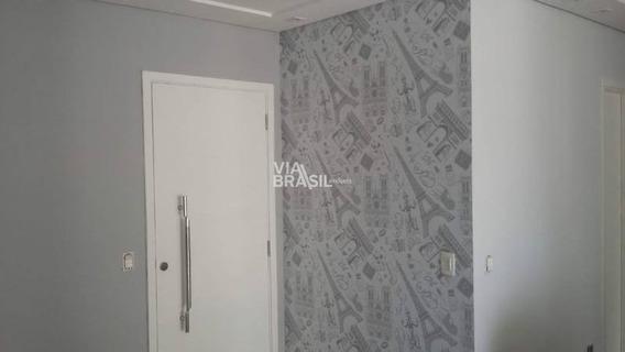 Apartamento Em Condomínio Padrão Para Venda No Bairro Vila Gilda, 2 Dorm, 1 Suíte, 2 Vagas, 86 M - 587