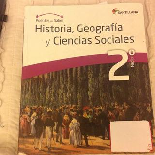 Historia, Geog Y Cs.soc 2 Medio Puentes Del Saber Santilla