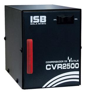 Cvr 2500 Sola Compensador De Voltaje Refrigerador 2500va 13a