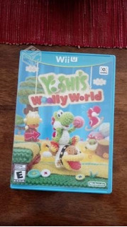 Wii U Yoshi Wooly World