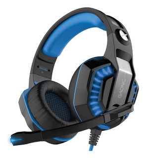 Auricular Gamer Gsdnic Pro Ps4 Luces + Adaptador Usb Xbox Mic