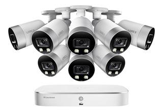 Lorex Sistema Seguridad Nvr 8 Camaras Canales Uhd 4k Ip 2tb