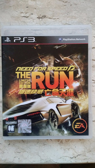 Need For Speed The Run Limited Edition - Ps3