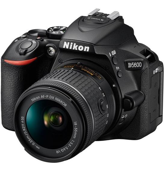 Nikon D5600 Kit 18-55mm 24.2 Mpx Full Hd Wifi Bluet + TriPod
