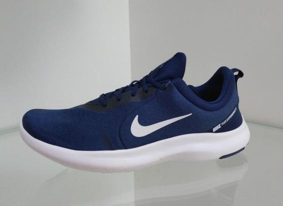 Tenis Masculino Nike Flex Experience Rn 8 Azul Frete Grátis