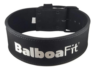 Cinturon De Cuero 10mm Balboafit Powerlifting Gym Fitness