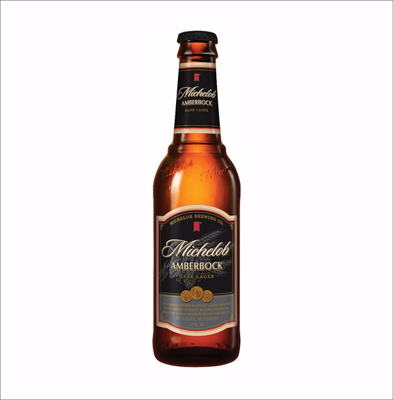 Cerveza Michelob Amberbock Importada Eua 1 Botella 355ml (f)