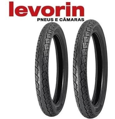 Par Pneu Levorin Matrix Cg/titan125/150/ybr/factor/fan