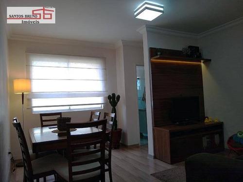 Apartamento Com 2 Dormitórios À Venda, 50 M² Por R$ 279.000,00 - Freguesia Do Ó - São Paulo/sp - Ap3647