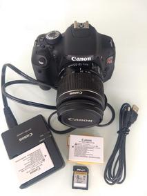 Canon Eos Rebel T3i - Ótimo Estado