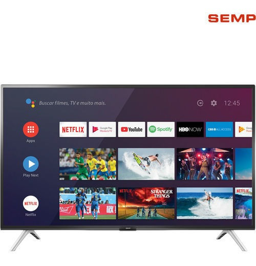 Smart Tv Android 43 Semp 43s5300 Full Hd Com Conversor