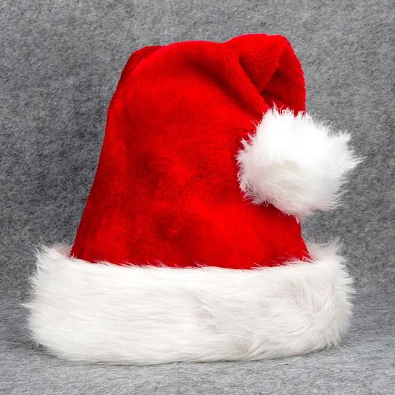 Mujeres Hombres Navidad Sombrero De Santa Gorro De Felpa De