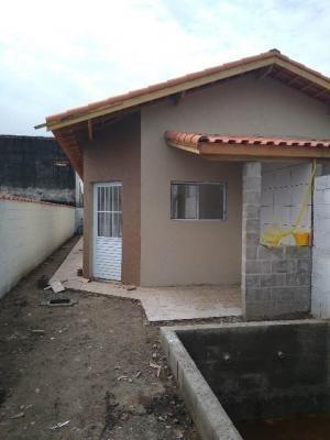Casa Geminada Para Financiamento Bancário Em Itanhaém - 0070-cs
