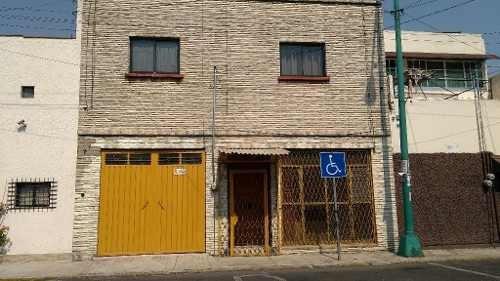 Casa Con Excelentes Espacios Para Oficina, Cerca Del Metro Villa De Cortés