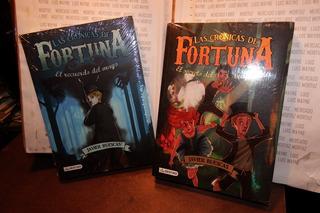 2 Libros Físicos Infantil Cronicas De Fortuna Ruescas