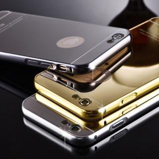 Capa Bumper Alumínio Espelhada iPhone 5s/5se/ 6 /6s/6plus/ 7