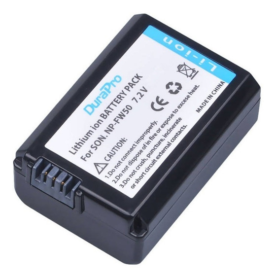 Bateria P/ Sony Alpha Np-fw50 A7 A7ii A6500 A6400 A6300