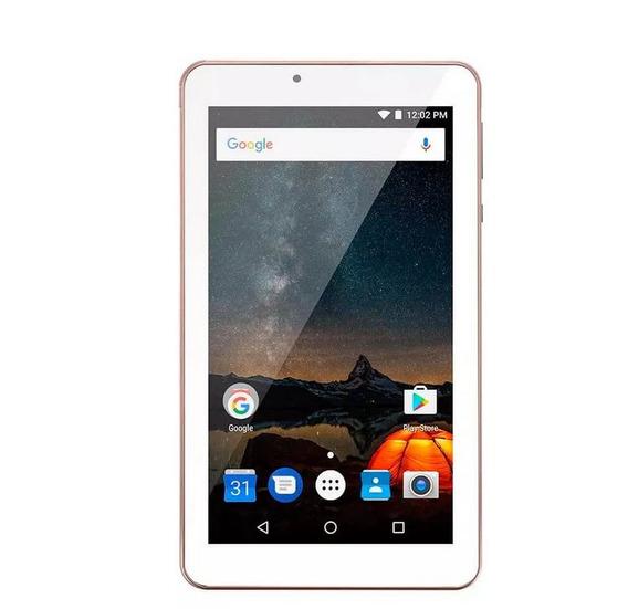Tablet Multilaser M7s Plus Quad Core Câmera Wi-fi 1 Gb Rosa