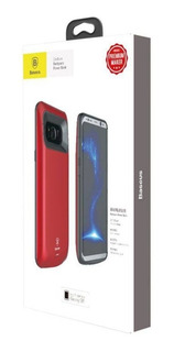Capa Carregador Bateria Baseus Power Bank Samsung S8+ Plus