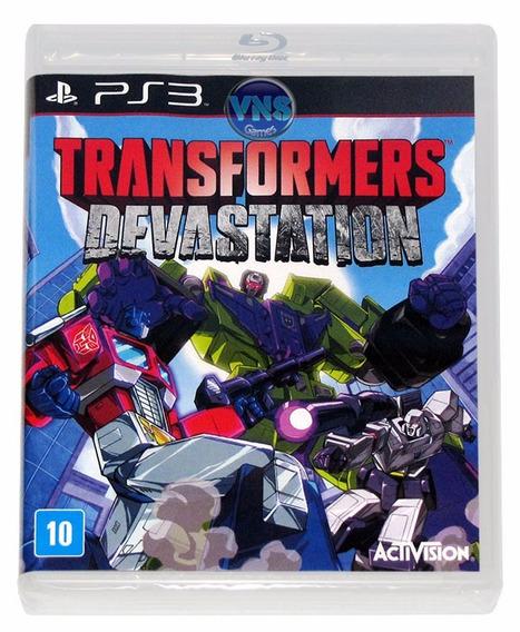 Transformers Devastation - Ps3 - Mídia Física - Lacrado