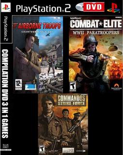 Airborne Commandos Combat Elite Compilation 3 In 1 Play 2