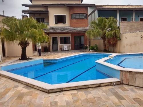 Casa Em Condomínio 20 Mts Do Mar E Com Piscina - Itanhaém Sp