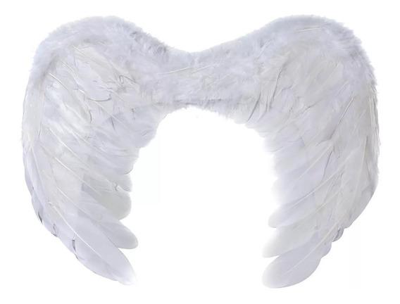 Alas De Angel Blancas De 60 X 40 Cm