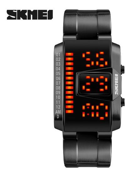 Skmei 2017 Popular Marca Hombres Relojes Digitales Moda Casu