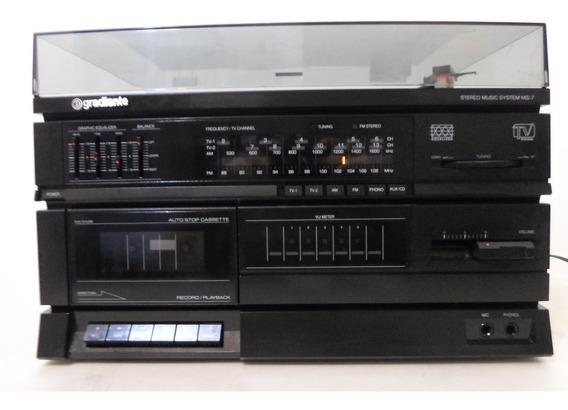 Stereo Music System Gradiente Ms-7 (funcionando)semcxs.acust