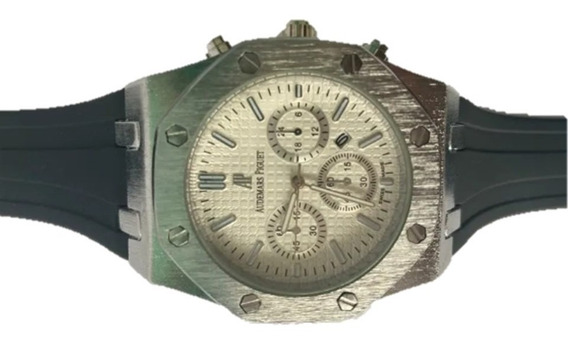 Reloj Audemars Piguet Roble Black Imperdible Envio Gratis