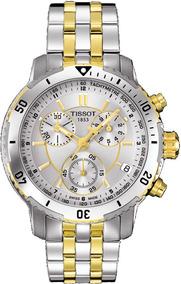 Relógio Tissot Prs200 Cor: Prata/dourado+caixa Original+almo