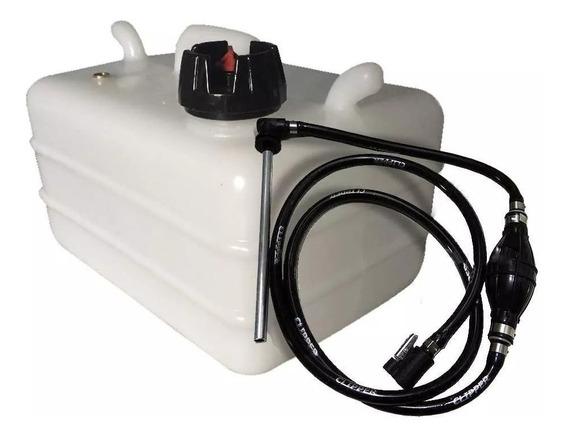 Tanque De Combustivel Barco 12 L Completo Johnson Evinrude
