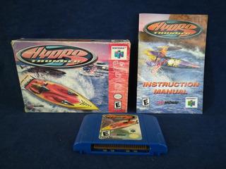 Hydro Thunder Con Caja Y Manual Para Tu Nintendo 64