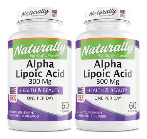Promo 2 Acido Alpha Lipoico America - Unidad a $641