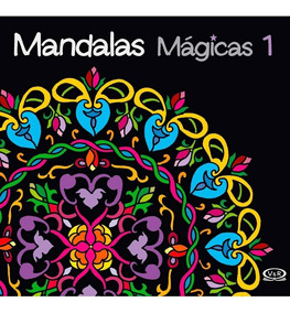 Livro Para Colorir Adulto - Mandalas Mágicas Vol. 1 - 1ª Edi