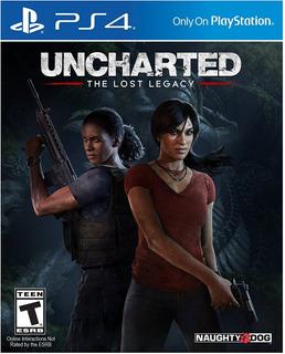 Uncharted: The Lost Legacy Ps4 Nuevo Y Sellado