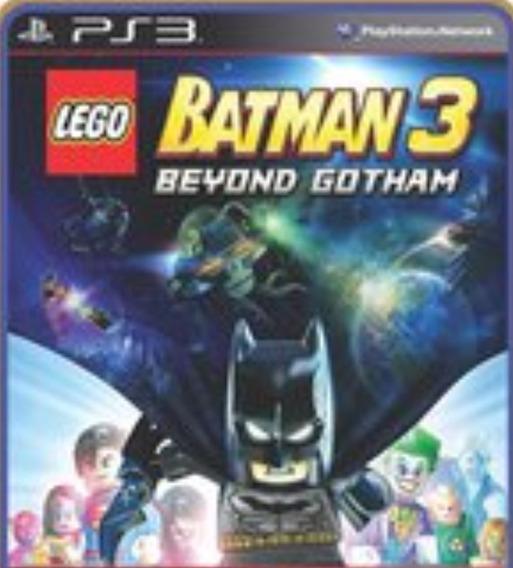 Jogo Lego Lego Batman 3 Beyond Gotham Play 3 Jogo Promoção