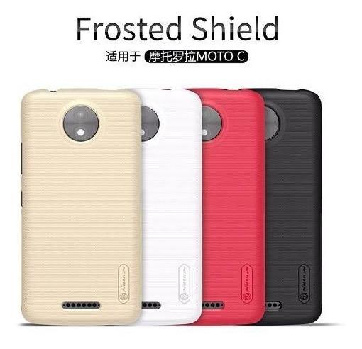 Motorola Moto C Frosted Nillkin + Lamina - Prophone