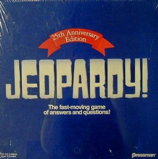 Jeopardy 25th Anniversary Edition Por Pressman
