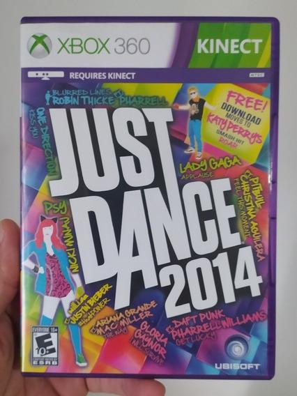 Just Dance 2014 De Dança Kinect Original M Física Xbox 360
