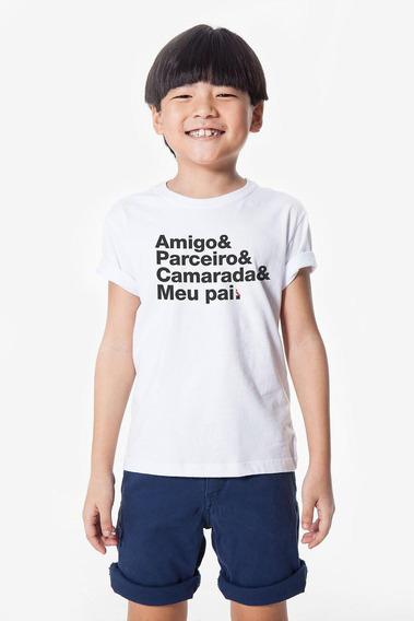 Camiseta Mini Camarada Reserva Mini