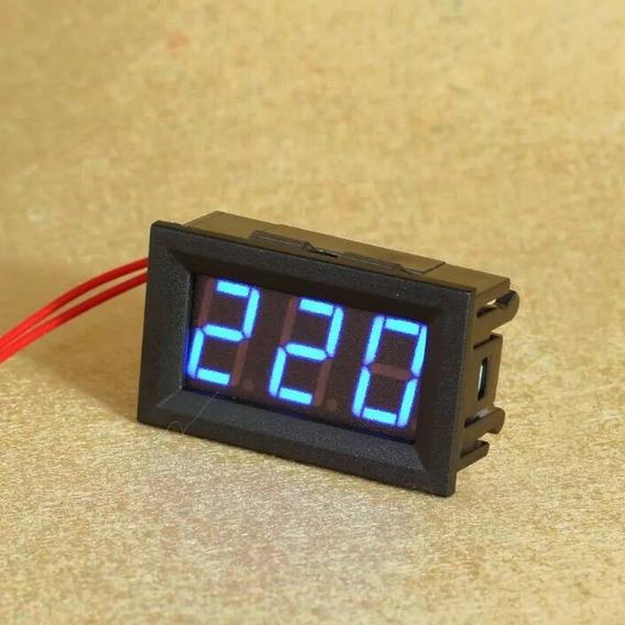 Voltímetro Digital Ac Medição Para 127/220/380 Volts