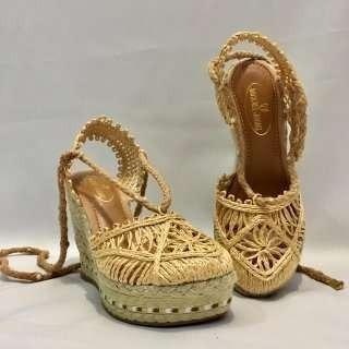 Sapato Em Palha
