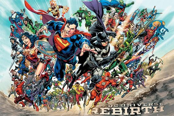 Poster Importado De Justice League - Rebirth