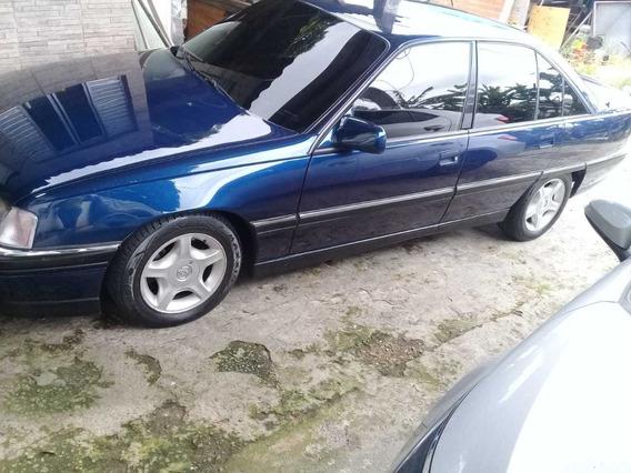 Chevrolet Omega Cd Motor 4.1 1997 Azul 4 Portas